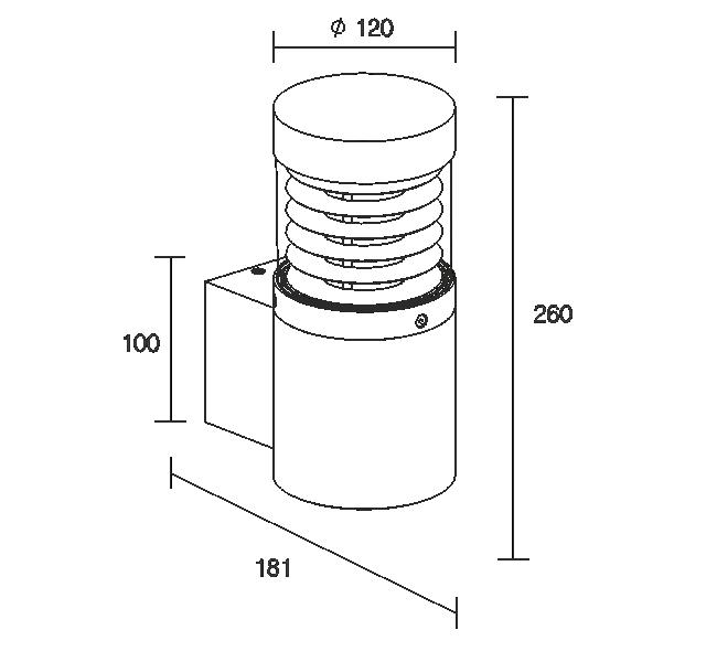 Brumi-W 12W 220V IP65